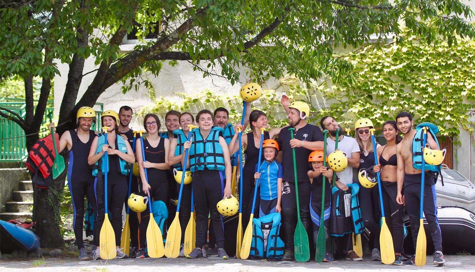 En couple, en groupe, en famille, entre amis Rafting, mini-raft